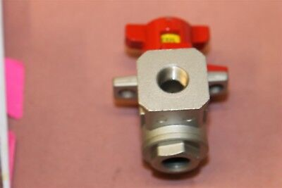 Smc Pneumatic Valve With Safety Lock Out Vhc4500-03-x116 New