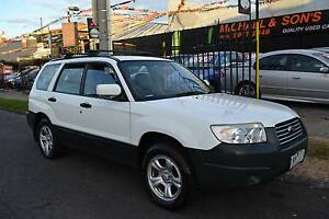 2006 SUBARU FORESTER X 5 SP MANUAL ALL WHEEL DRIVE LOTS OF EXTRAS Coburg Moreland Area Preview