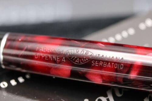 Aurora Optima Burgundy Rollerball Pen - UNUSED 4