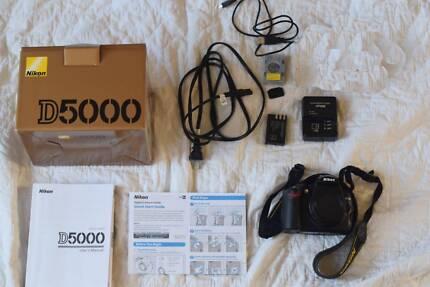 Nikon D5000 - DSLR camera body - near new in the box Alexandria Inner Sydney Preview