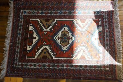 Genuine Handmade Persian Rug Wool Carpet Kurdish Tribal -171x128 Hornsby Hornsby Area Preview