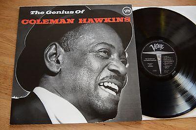 The Genius Of COLEMAN HAWKINS LP VERVE stereo 825673-1 germany