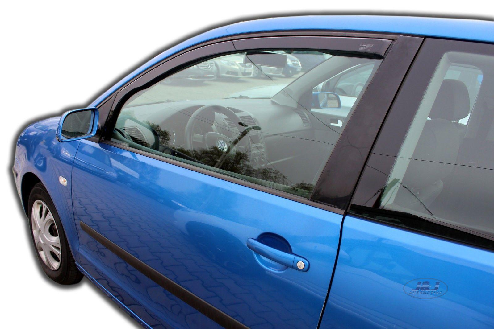 Wind deflectors for Volkswagen VW Polo 4 9N 2001-2005 Hatchback 5doors front