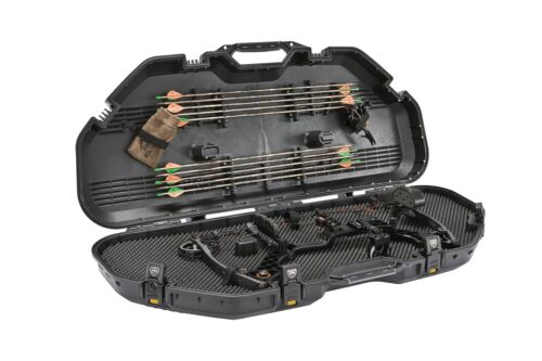 New Black Plano All Weather Airline Rated Hard Bow Case Model #108115