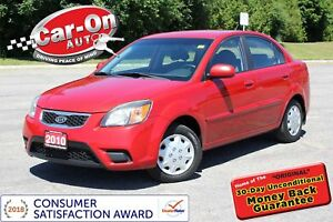 2010 Kia Rio EX BLUETOOTH ONLY $42 BI-WEEKLY o.a.c