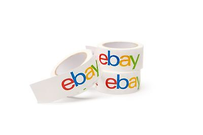 Classic - Official Ebay Branded Bopp Packaging Tape - Shipping Supplies