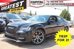 2017 Chrysler 300 300S | LEATHER | NAV | 20 BLACK WHEELS | PANO