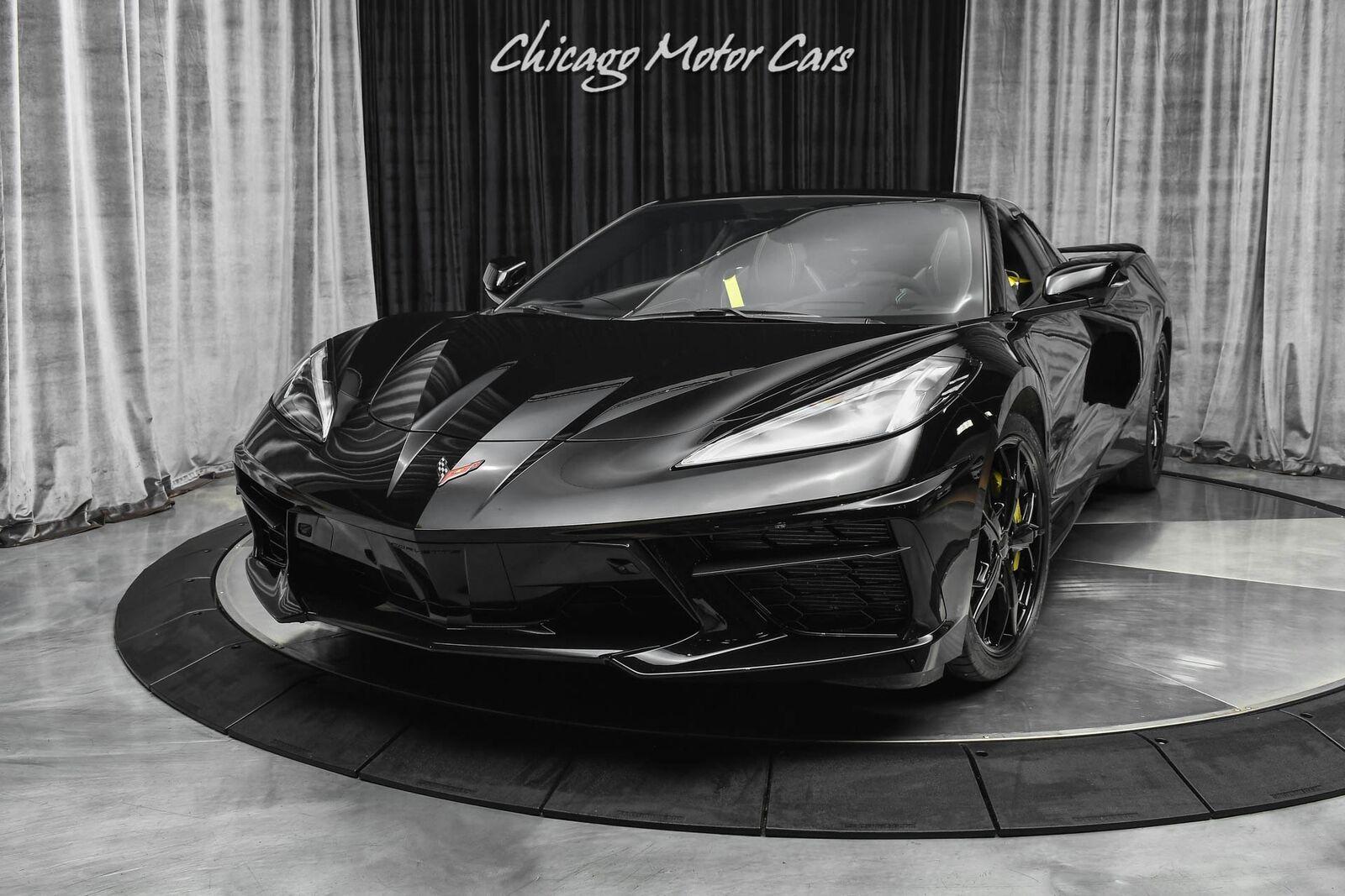 2020 Black Chevrolet Corvette Stingray 3LT   C7 Corvette Photo 2