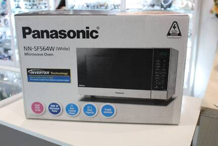 New Never Used Panasonic Nn Sf564w White Microwave Oven Microwaves Gumtree Australia Stonnington Area Prahran 1180911419