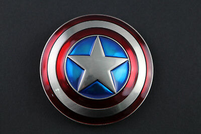 CAPTAIN AMERICA SHIELD BELT BUCKLE AVENGERS INFINITY WARS METAL MARVEL