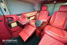 Mercedes-Benz Extra-Lang Luxus Business VIP Van - BURGANO