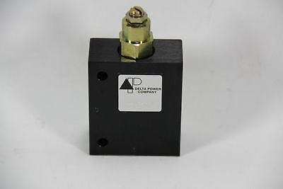 Delta Power 8500-5267 Hydraulic Piloted Relief Valve - New