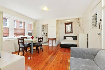 BEAUTIFUL, FULLY FURNISHED FULLY SELF CONTAINED STUDIO FOR LESS Rushcutters Bay Inner Sydney Preview