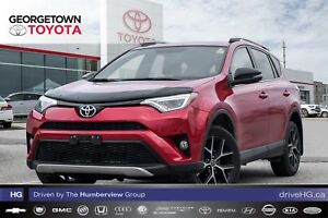 2016 Toyota RAV4 SE|NAVIGATION|BACK UP CAM|SUNROOF|HEATED SEATS