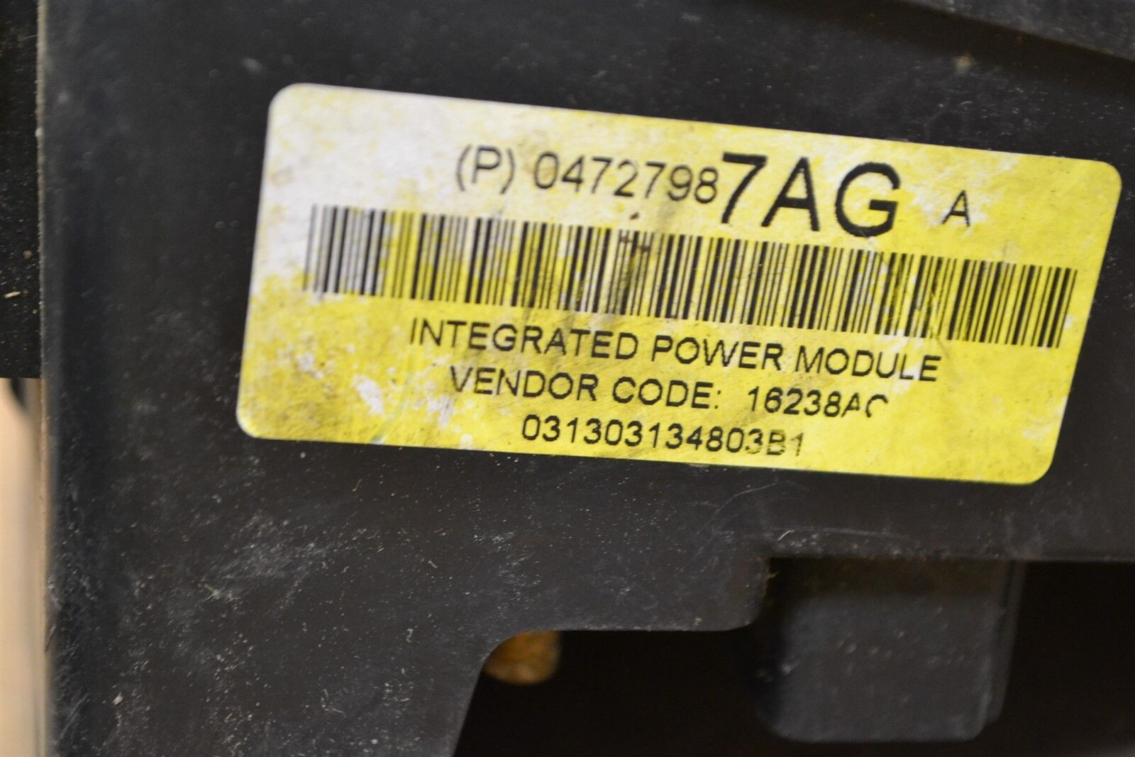 Used 2004 Chrysler Pacifica Computers Chips Cruise Control And 2005 Fuse Box Junction Oem P04727987ag Module 894 7e6