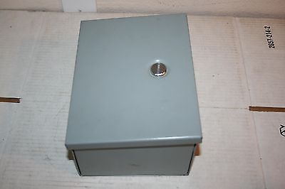 Hoffman A8n64 Type 1 Metal Electrical Enclosurecutout Box 8h X 6w X 4d