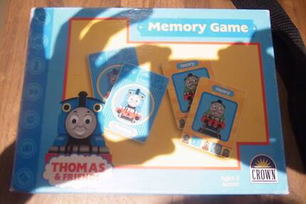 Thomas the tank engine memory games great for 2yrs plus