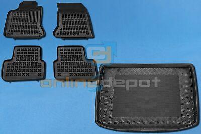 Gummi-Fußmatten+Kofferraumwanne MERCEDES A-KLASSE W176 2012-heute