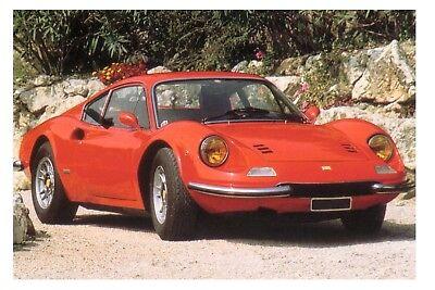 Ferrari Dino 246 1973 Car Jumbo Fridge Magnet