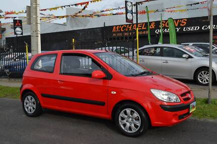 2007 HYUNDAI GETZ HATCH 1.4LT 4 CYLINDER AUTOMATIC DRIVEAWAY ONLY Coburg Moreland Area Preview