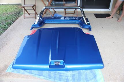 Genuine Mitsubishi MQ Triton hard tonneau cover impulse blue