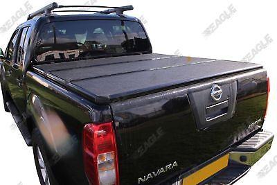 For Nissan Navara D40 Eagle1 Hard Tri Fold Tonneau Cover Load Bed Cover d'occasion  Expédié en Belgium