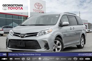 2018 Toyota Sienna LE 8-Passenger|BACK UP CAM|HEATED SEATS|ROOF