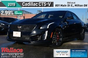 2019 Cadillac CTS-V DEMO/640HP/SUNROOF/BREMBOS/HTD LTHR STS&WHL/