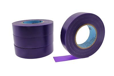 4pk 34 .75 Purple Heavy Electrical Tape Wiring Labeling Pvc Vinyl Contractor