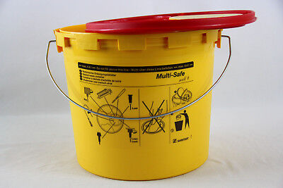 Kanülensammler Kanülenbox Kanülenabwurfbehälter 5,1 Ltr. Multi-Safe medi 6
