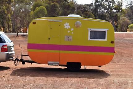 Custom made caravan