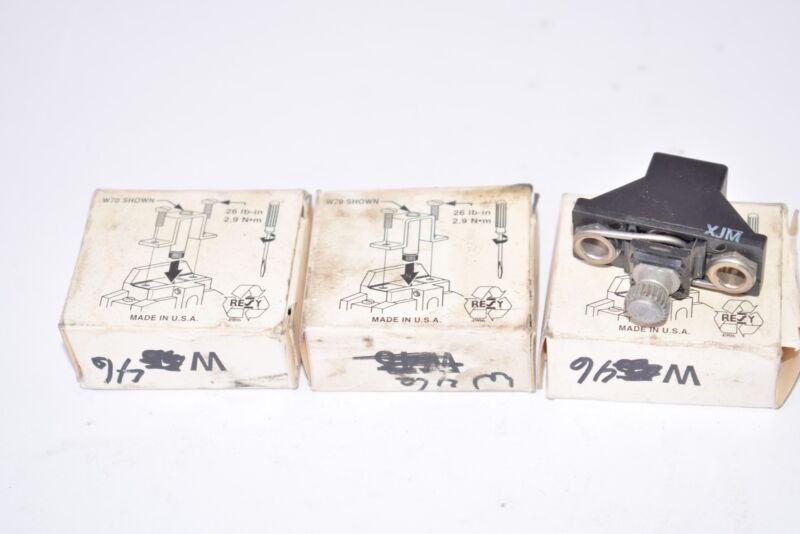 Lot of 3 NEW Allen Bradley W46 Overload Relay Heaters