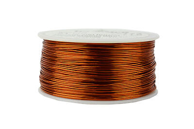 Temco Magnet Wire 21 Awg Gauge Enameled Copper 200c 1lb 395ft Coil Winding