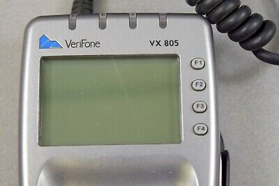 Verifone Vx805 Pos Credit Card Chip Swipe Reader Terminal With Pin Pad Emv Ctls