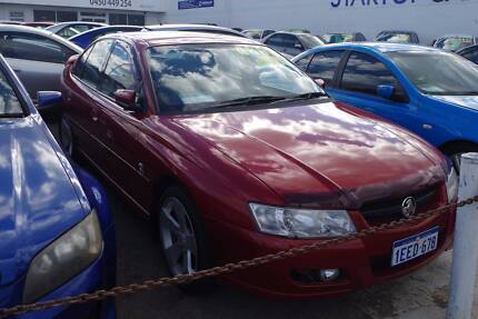 2004 HOLDEN COMMODORE ACCLAIM VZ 4D SEDAN AUTOMATIC Victoria Park Victoria Park Area Preview