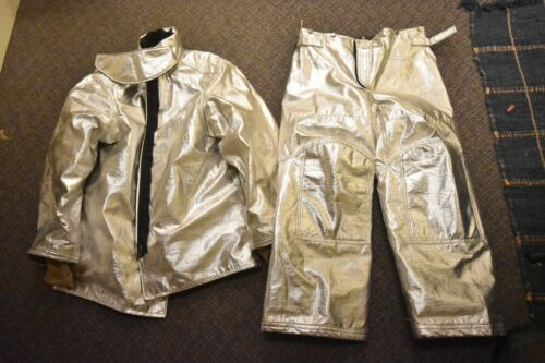 Firefighter Proximity Suit JACKET Janesville LION Size 44 Aluminized Polyaramid