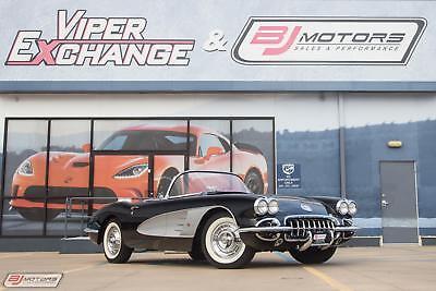1958 Corvette -- BJ Motors, LLC , Houston Texas  - We Buy and Sell Exotics!!!!! #1 Viper Dealer