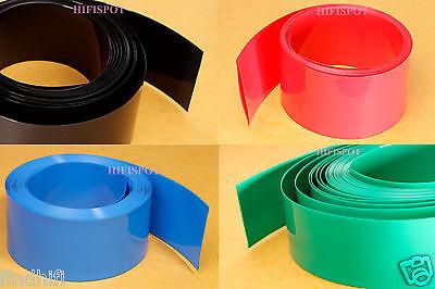 6FT Flat diameter 140mm(Φ88mm in round) PVC HEAT SHRINK TUBING TUBE