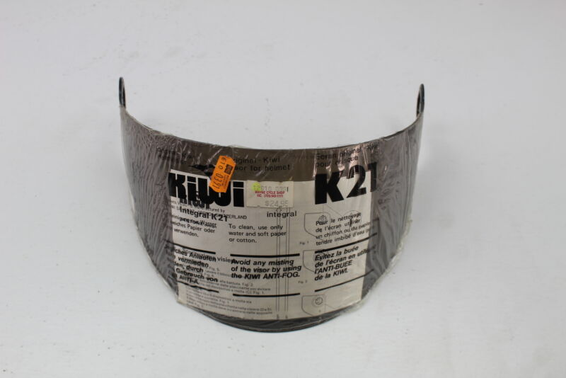 CLEAR KIWI HELMET VISOR FITS K-21 HELMETS