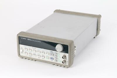 Agilent 33120a 15mhz Functionarbitrary Waveform Generator - See Description