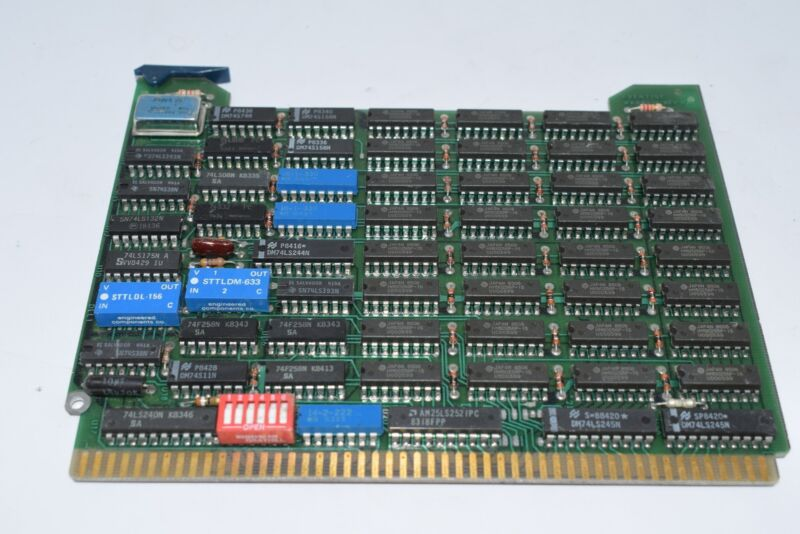 HP Eventide WKBP-16 REV. B Memory Board 300 9000 Series Computers PCB