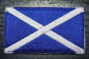 SCOTLAND Scottish Country Flag Embroidered PATCH Badge *NEW*