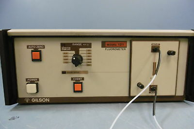 Gilson Model 121 Hplc Detector Fluorescence Chromatography