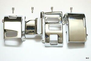 Housing Switch Cover for  Kawasaki Vulcan VN 1500 1600 Classic Nomad Chrome