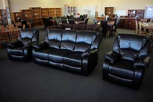 $949 *NEW* LEATHER LOOK 3RR+R+R LOUNGE SUITE Cannington Canning Area Preview