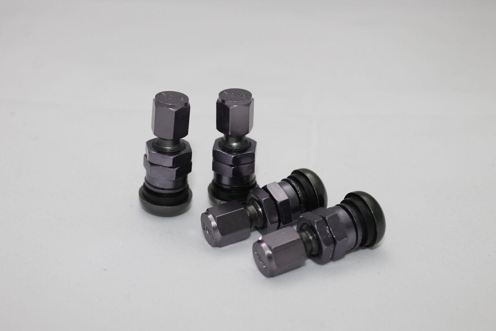 Aluminium Ventile Silber PKW Ventilkappen Felgenventile Metallventil 11,3mm