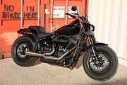 EX DEMO 2018 Harley-Davidson Fatbob 114. Lavington Albury Area Preview