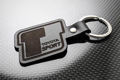 Toyota T-Sport Cuero Llavero Schlüsselring Llavero Celica Auris