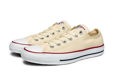 Converse Unisex All Star OX Shoes NEW AUTHENTIC Natural White (Star White Natural)