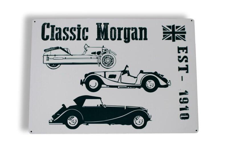 Large+Classic+Morgan+Gift+Metal+Wall+Hanging+Sign